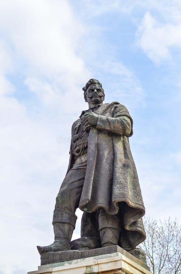 Statue von Gotse Delchev stockbilder