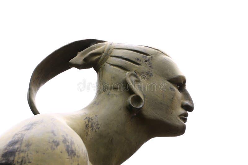 Statue von Hatuey stockfotografie