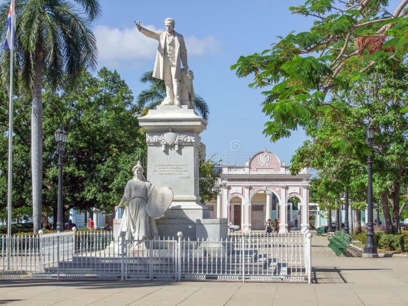 Statue von Jose Marti lizenzfreies stockfoto