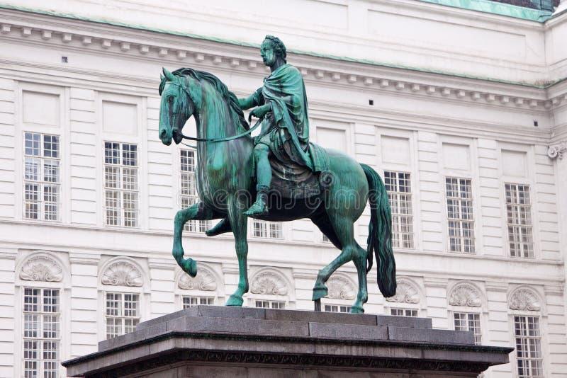 Statue von Josef, Wien, Österreich. lizenzfreie stockfotos