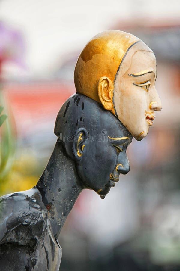 Statue von khon lizenzfreies stockbild