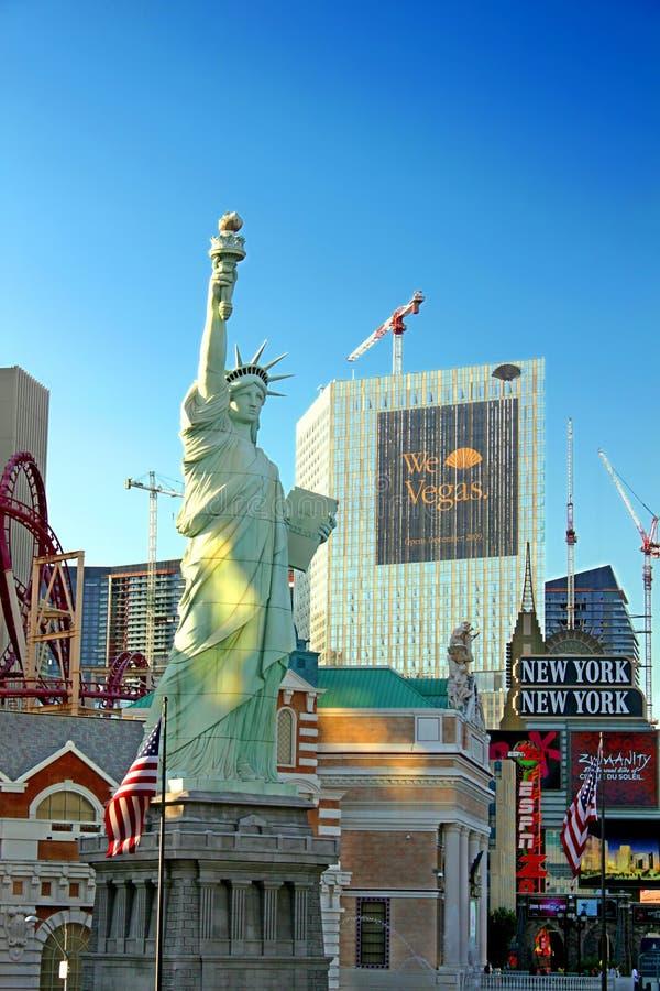 Statue von Liberty Replica Las Vegas lizenzfreie stockfotografie