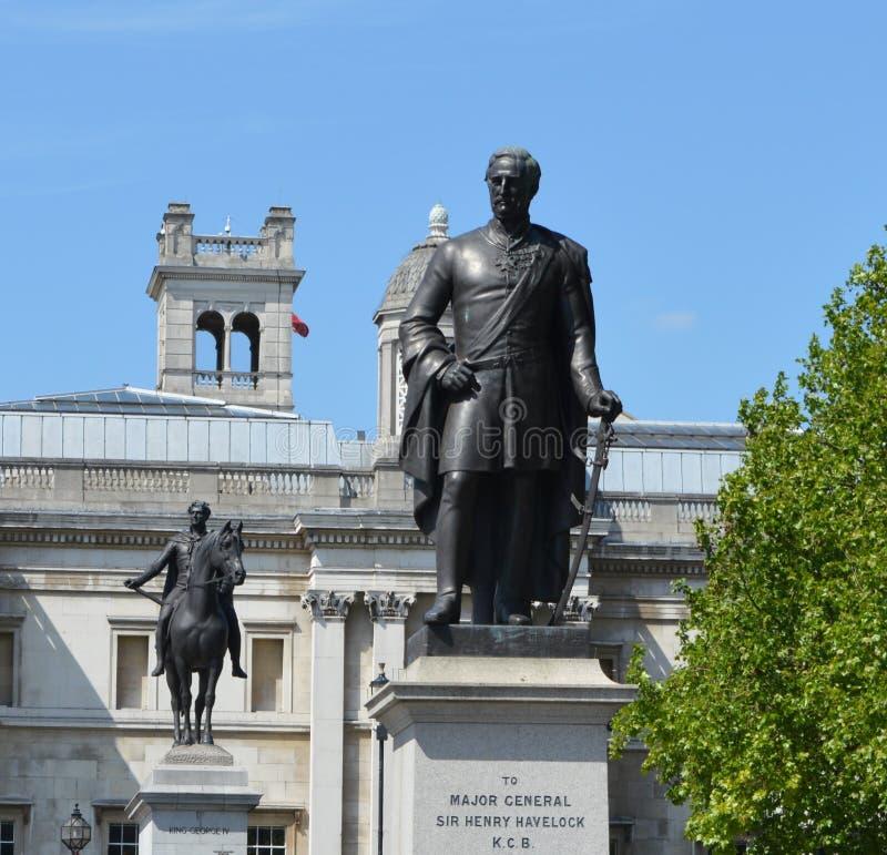 Statue von Major Gen Sir Henry lizenzfreies stockfoto