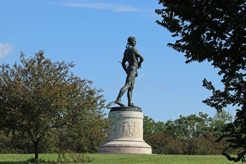 Statue von Orpheus lizenzfreie stockfotos