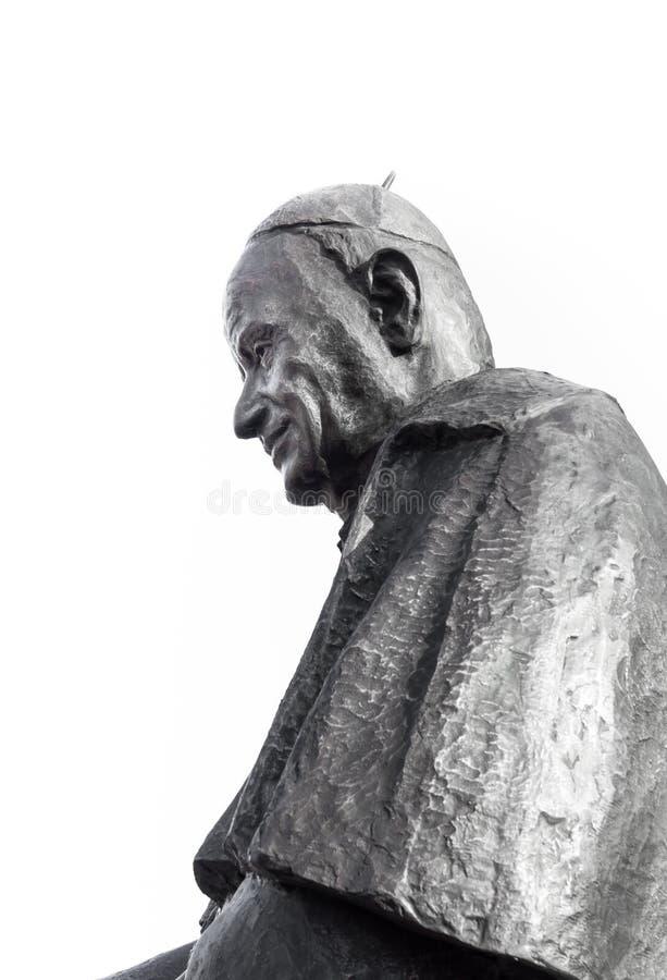 Statue von Papst Johannes XIII. lizenzfreies stockfoto