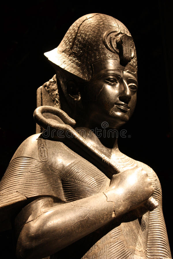 Statue von Ramesses II stockfoto