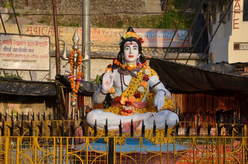 Statue von shiva stockbild