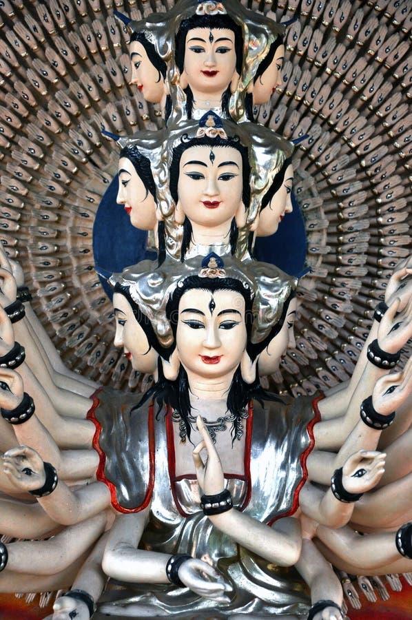 Statue von Shiva, Marmorberge, Da Nang, Vietnam stockbilder