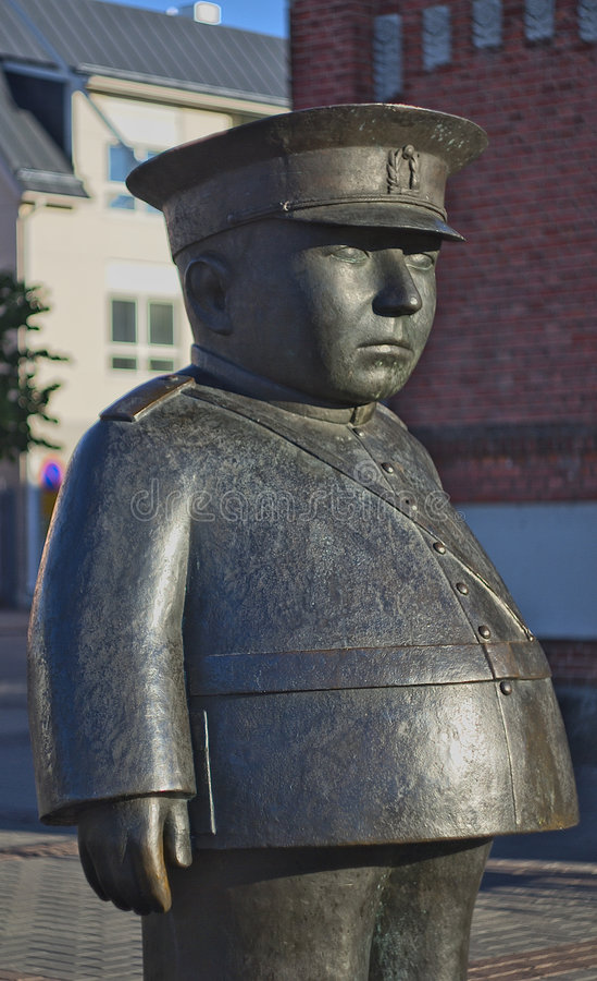 Statue von Toripolliisi stockbild