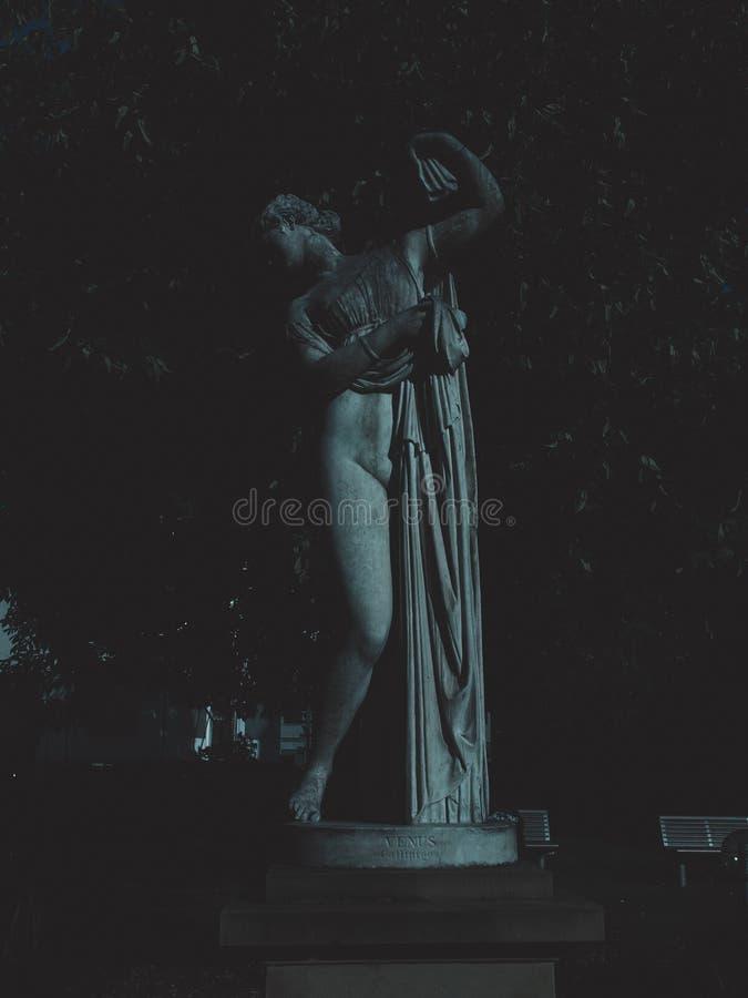 Statue von Venus stockbilder
