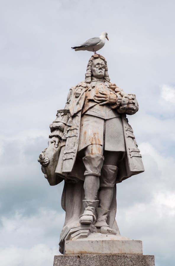 Statue von William der Orange lizenzfreies stockbild