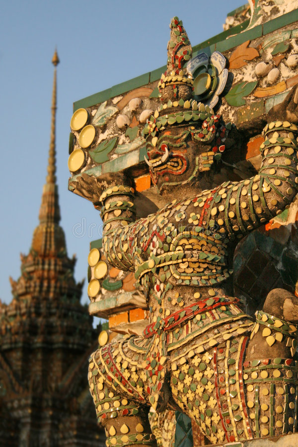 Free Statue Wat Arun Royalty Free Stock Images - 1968059