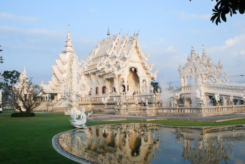 Statue white art Thailand stripes royalty free stock photo