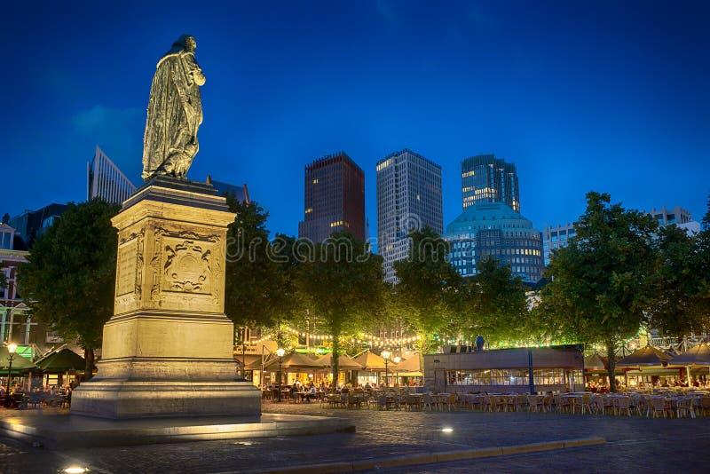 Statue of Willem de Zwijger royalty free stock image