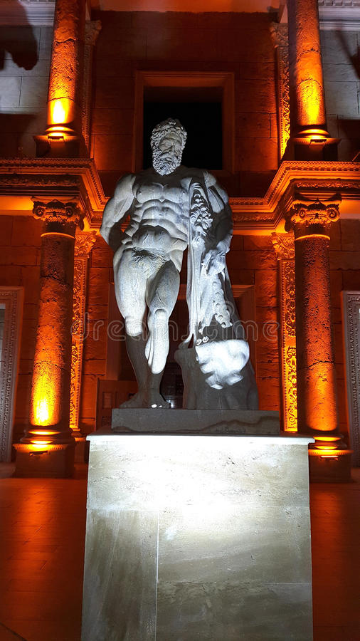 Statue of Zeus royalty free stock image