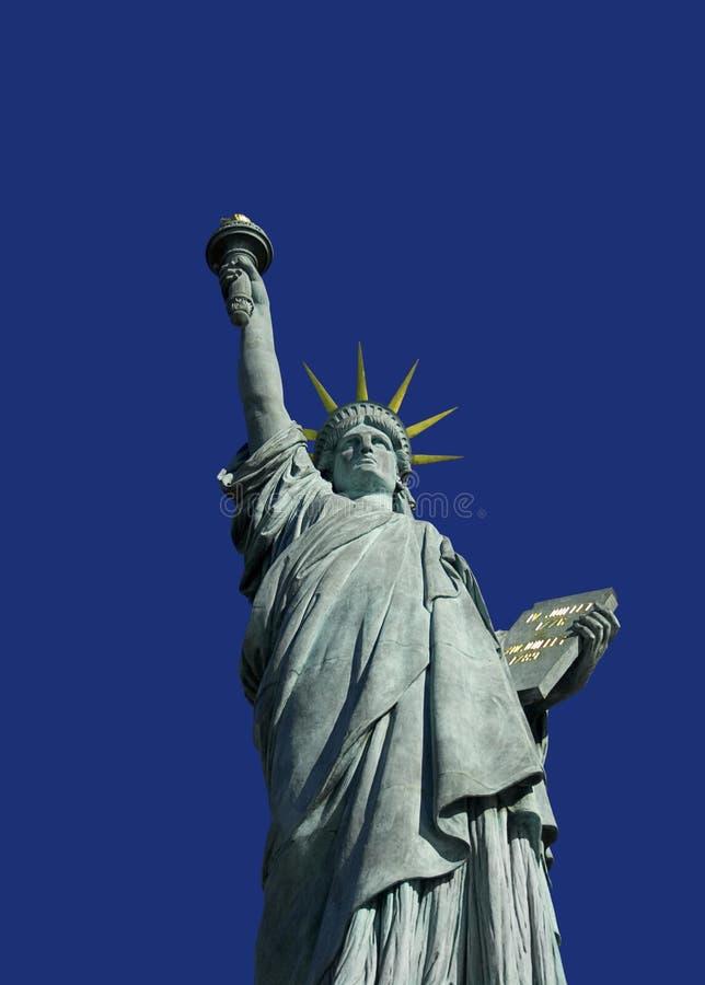 Statuede la Liberé à Paris.2 lizenzfreie stockbilder