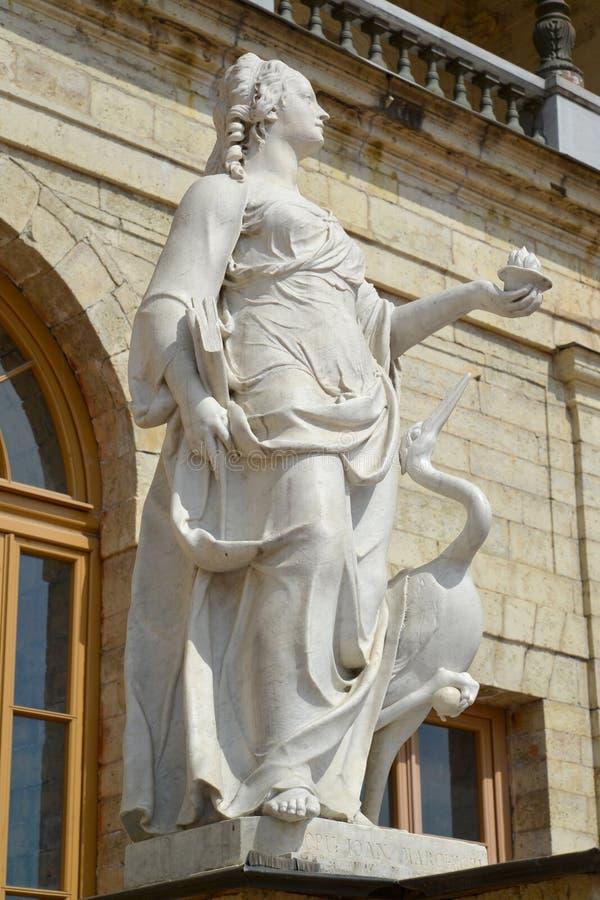 Statuen-Wachsamkeit in Gatchina, Russland lizenzfreie stockfotografie