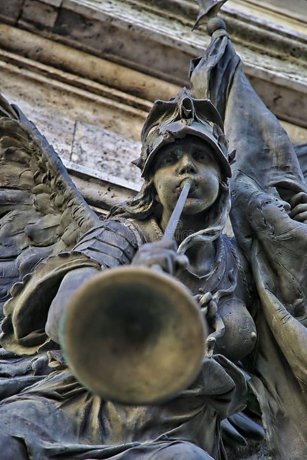 Statuendetails stockbilder