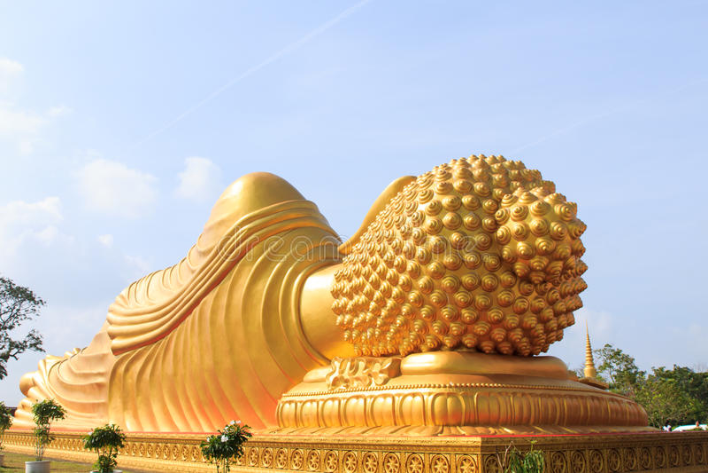 Statuenhand von Buddha lizenzfreie stockbilder