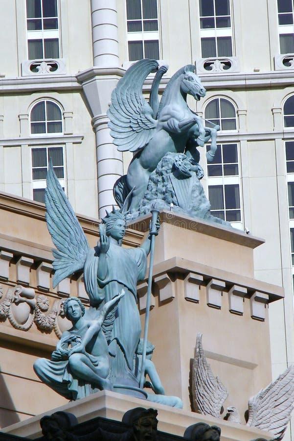 Statues à Vegas images stock