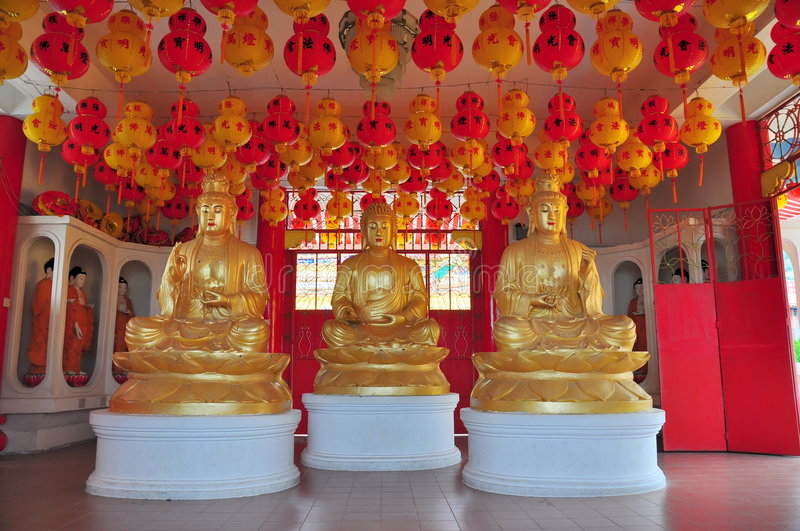 Download Statues Of Buddhist Gods Stock Images - Image: 7540064