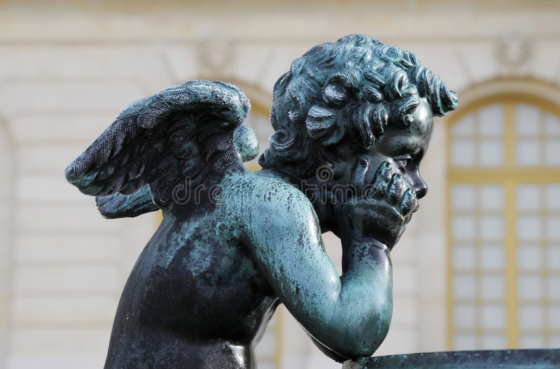 Statues d'ange photo stock
