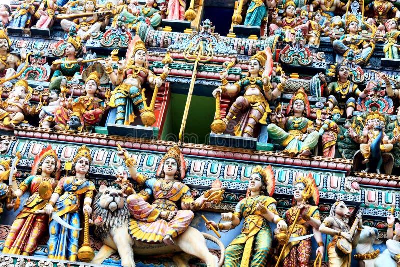 Statues d'hindouisme photographie stock