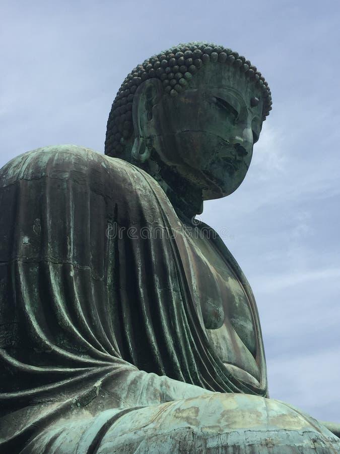 Statues de Bouddha de moine photo stock