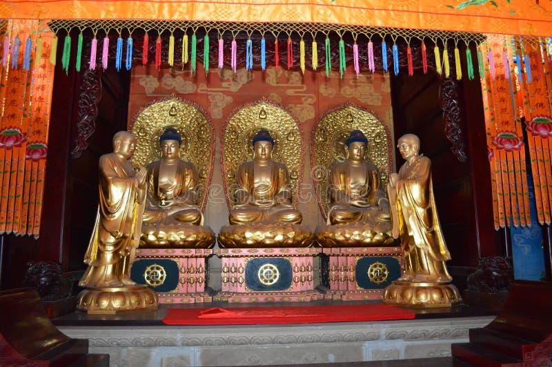 Statues de Fengdu images libres de droits