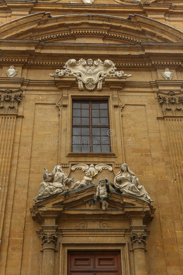 Statues de Florence photos stock
