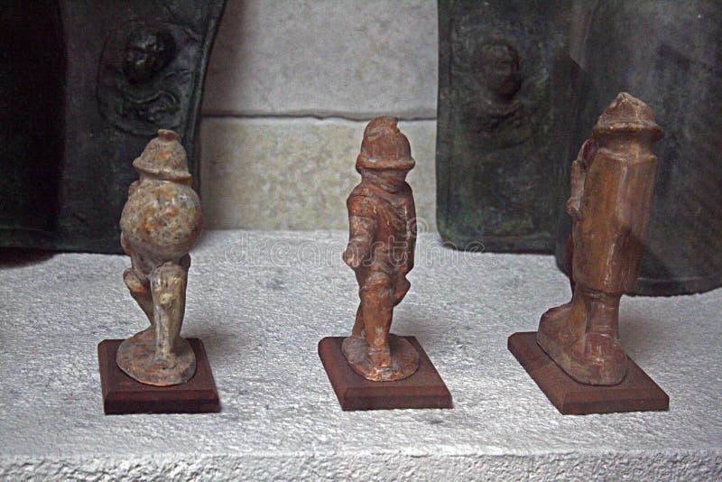 Statues de gladiateurs photographie stock