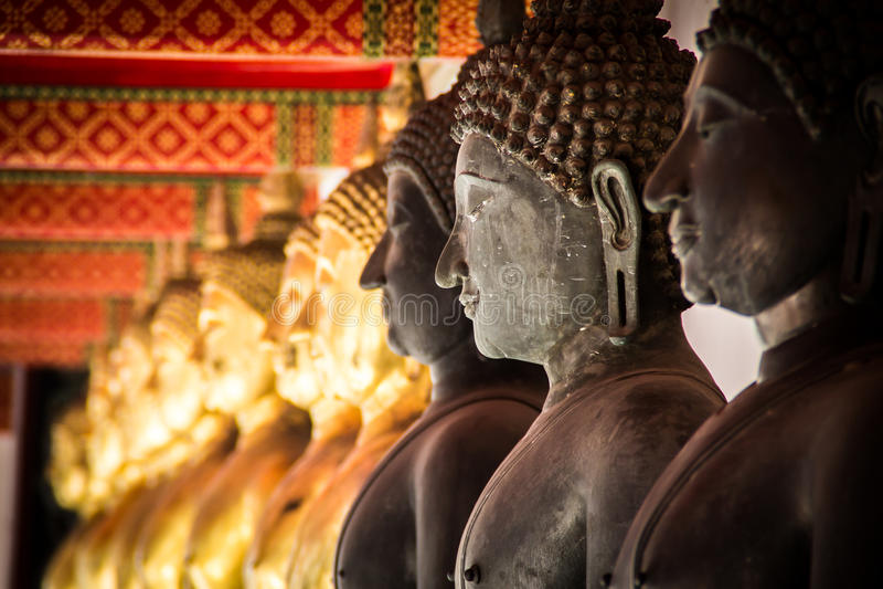 Statues de la Thaïlande images stock