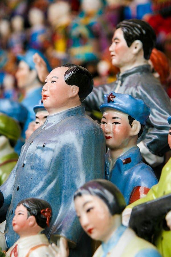 Statues de Mao dans Pékin, Chine photos stock