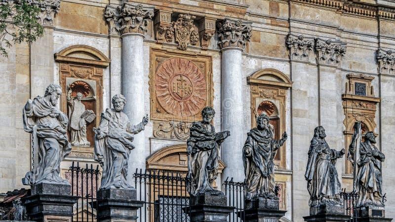 Statues des saints images libres de droits