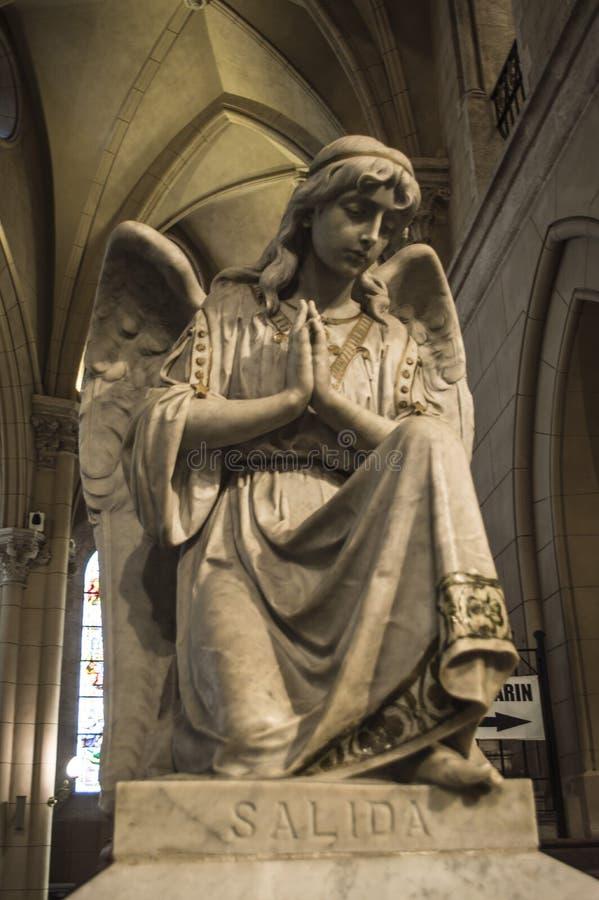 Statues du début du 13ème siècle photographie stock libre de droits