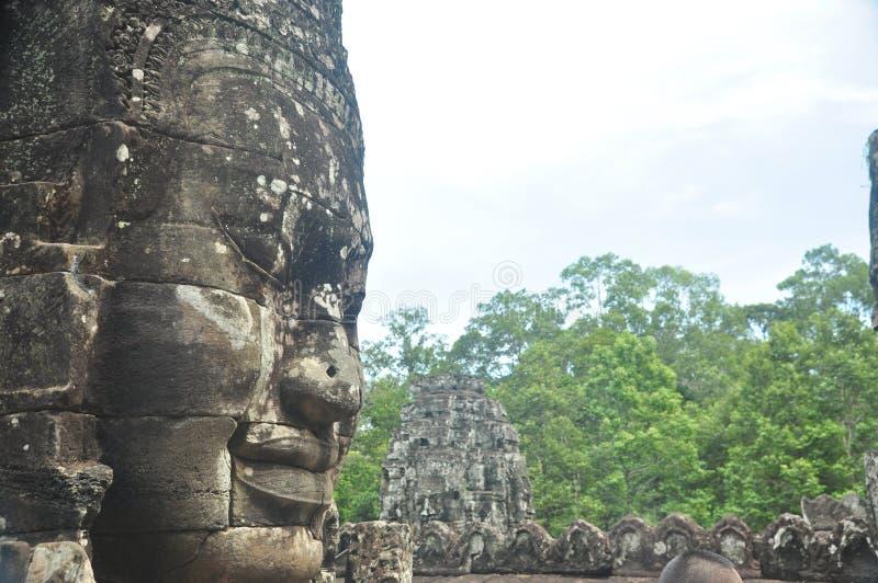 Statues en pierre antiques images libres de droits