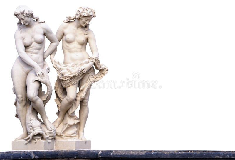 Statues femelles photos libres de droits