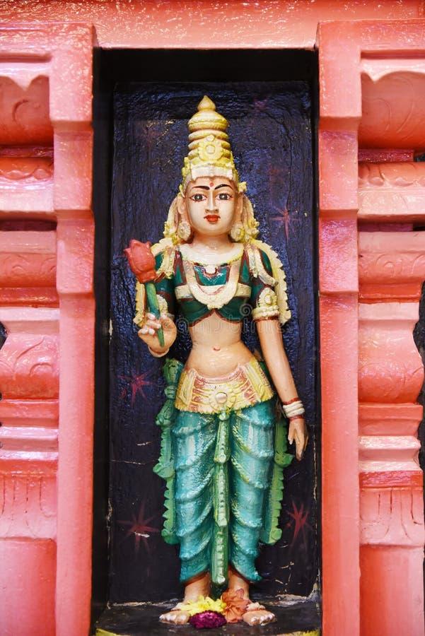 Statues of Hindu gods stock photos