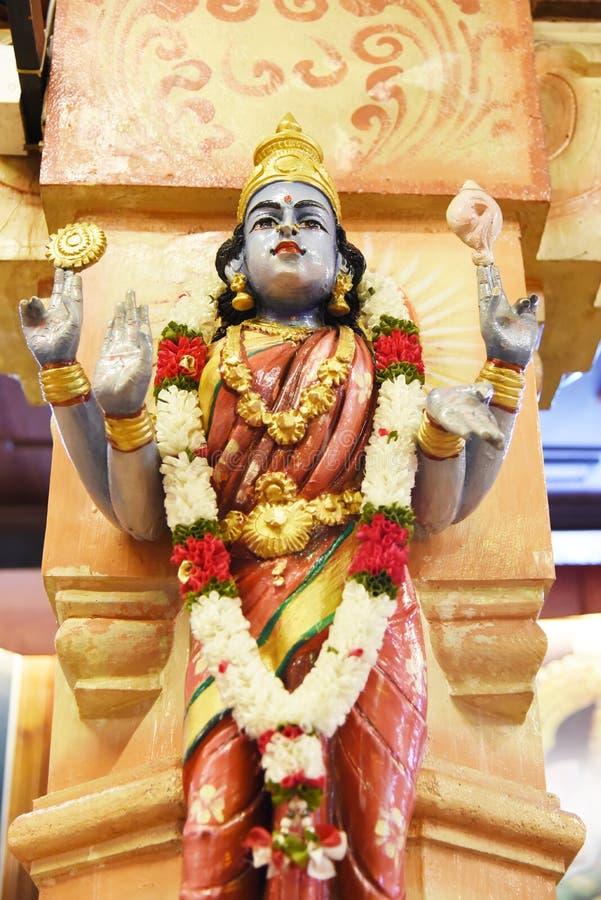 Statues of Hindu gods stock photography