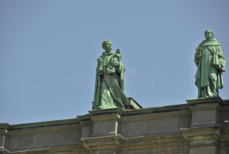 Download Statues On Mary Queen Of The World Cathedral Editorial Stock Photo - Image: 28239828