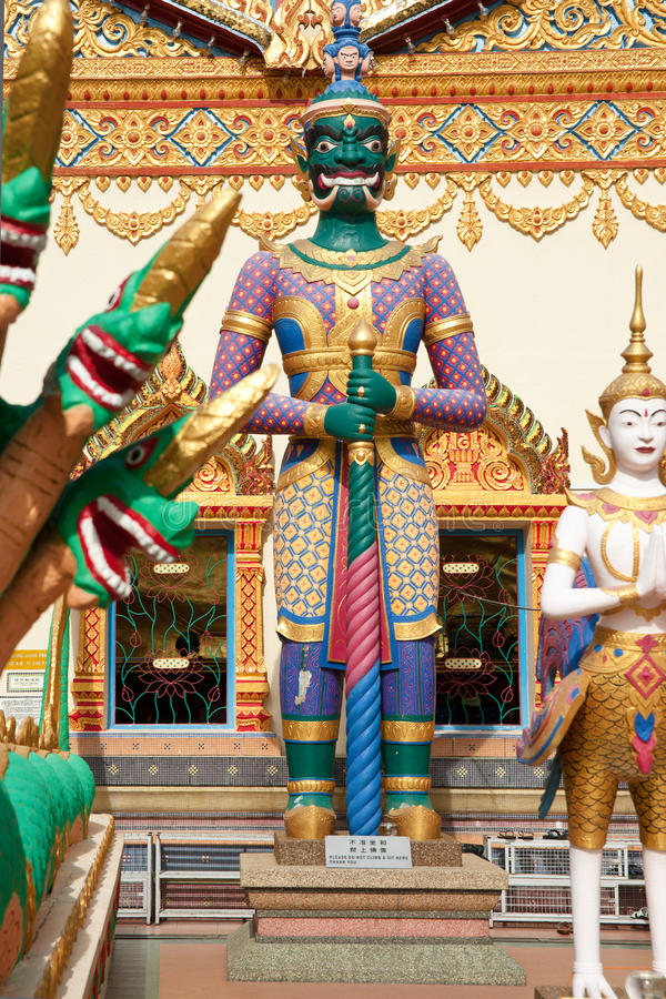 Download Statues Outside Temple Stock Photo - Image: 25741640