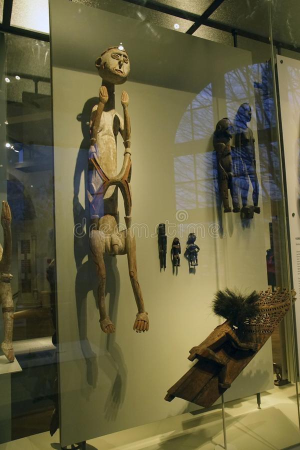 Statues rituelles des ancêtres photos stock