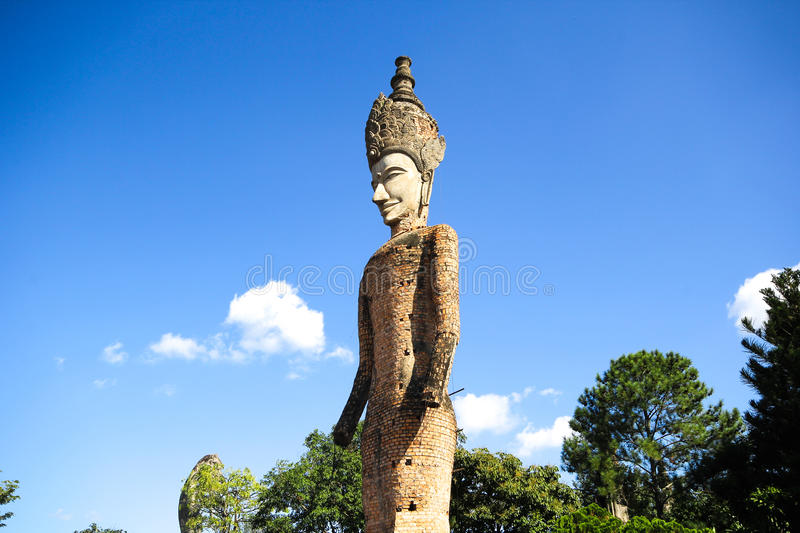 Statues in the Sculpture Park - Nong Khai, Thailand stock photo