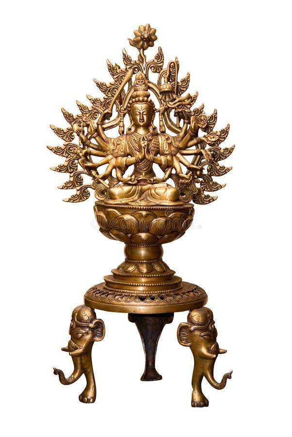 Statuetta del Buddha immagini stock