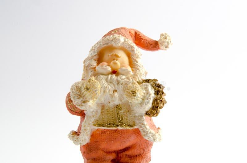 Statuette Άγιου Βασίλη (θέμα Χριστουγέννων) στοκ φωτογραφία με δικαίωμα ελεύθερης χρήσης