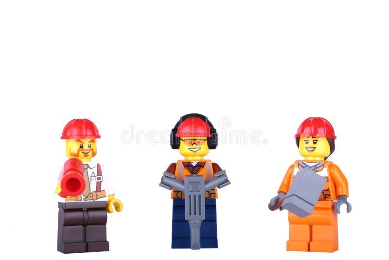 Statuette πλήρωμα των εργαζομένων στοκ φωτογραφία