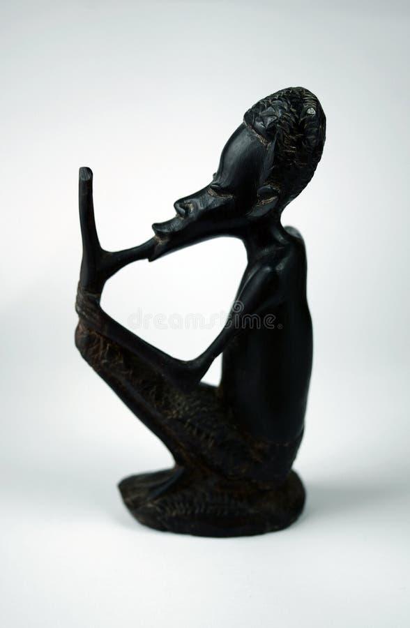 Statuette africaine images libres de droits