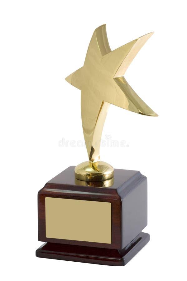 Statuette da estrela imagens de stock royalty free