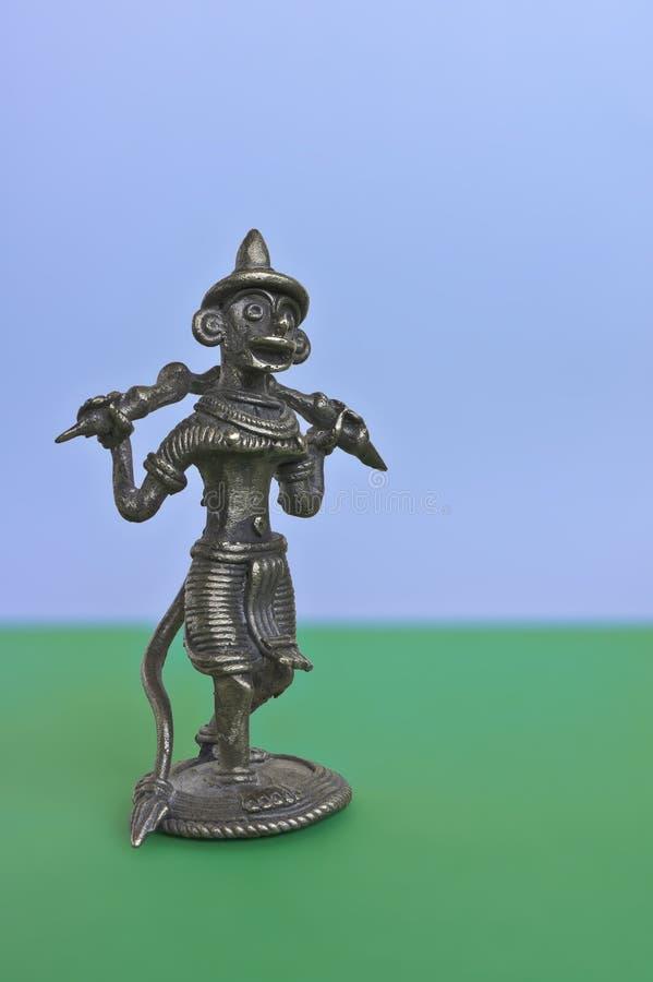 Indian god Monkey King Hanuman royalty free stock photo