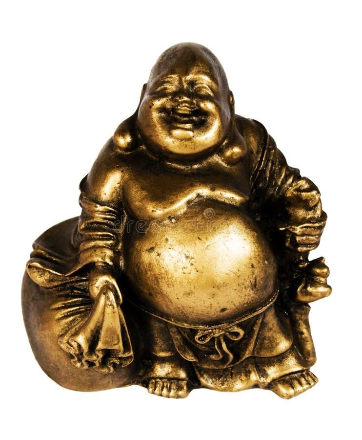 Statuette von Buddha lizenzfreie stockbilder